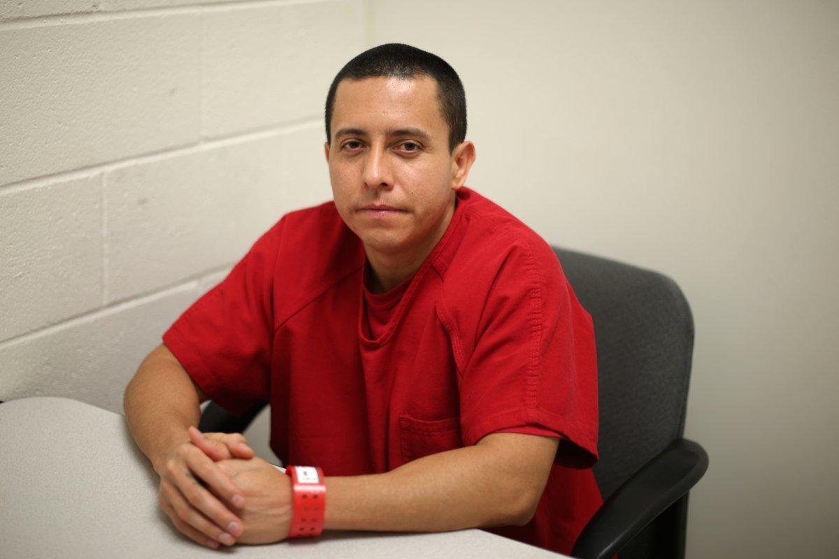 エルサルバドルからの違法入国者、ロベルト・ガラン(33)